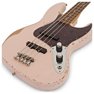Fender Flea Signature Jazz Bass, Roadworn Shell Pink