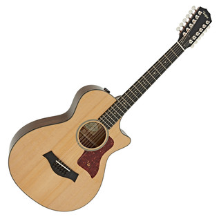 Taylor 552ce Grand Concert 12 String Electro Acoustic Guitar, Natural