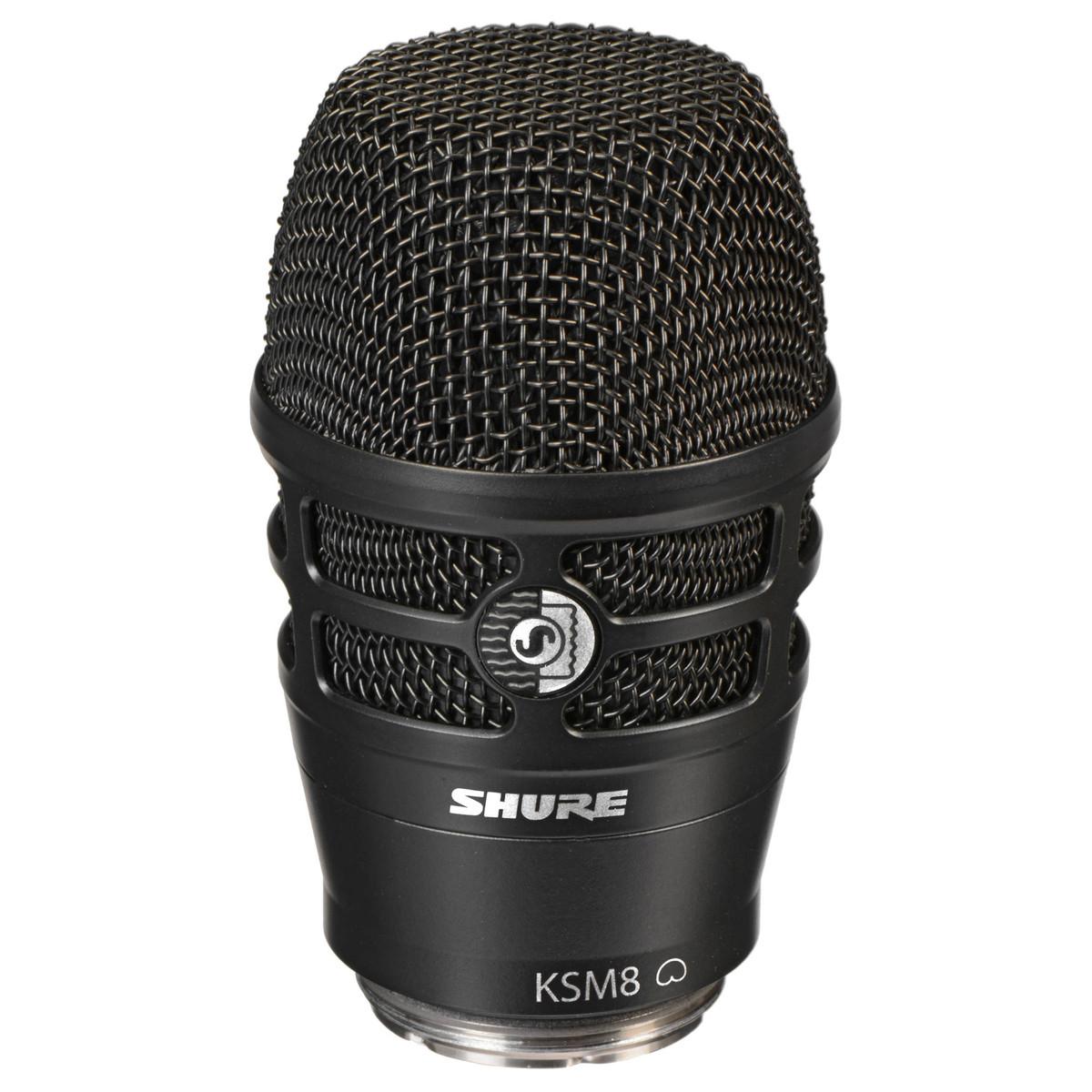 Shure KSM8 Dualdyne Dual Diaphragm Dynamic Microphone ...