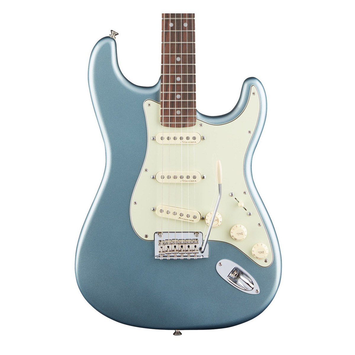 fender deluxe roadhouse stratocaster electric guitar mystic ice blue at gear4music. Black Bedroom Furniture Sets. Home Design Ideas