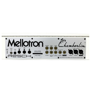 Mellotron M4000D, White - Rear