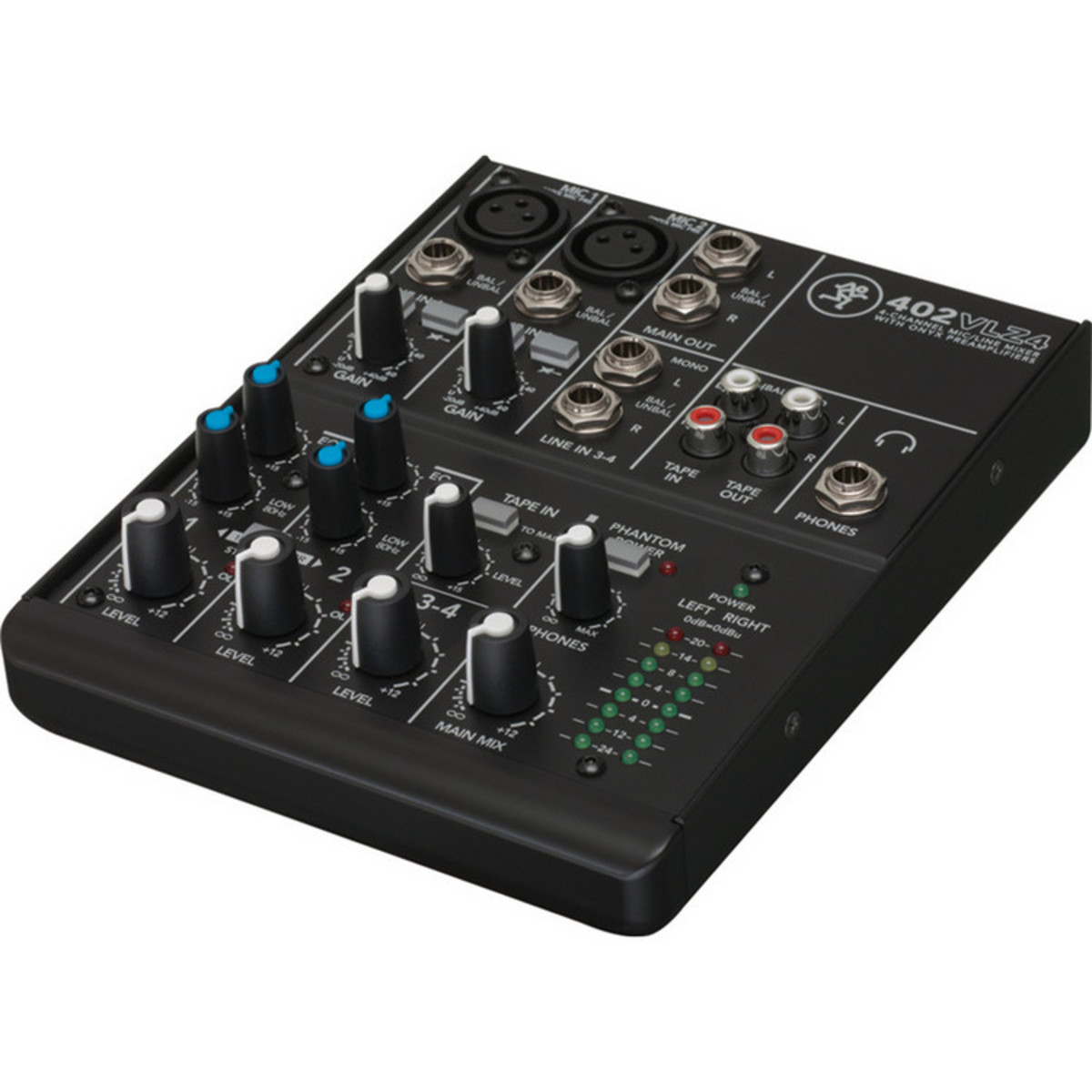 mackie 402 vlz4 4 channel analogue compact mixer box opened at gear4music. Black Bedroom Furniture Sets. Home Design Ideas