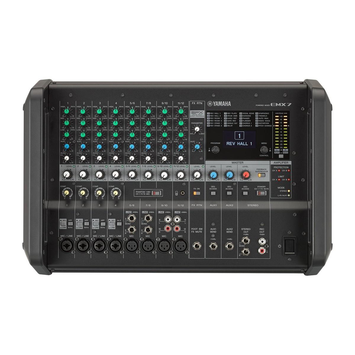 Yamaha Emxcf Powered Mixer Price