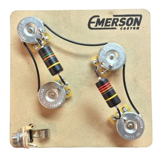 Emerson Custom 4-Knob PRS 3-Way Prewired Kit, 500k
