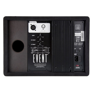 Event 2030 3-Way Active Studio Monitor, Left Rear View