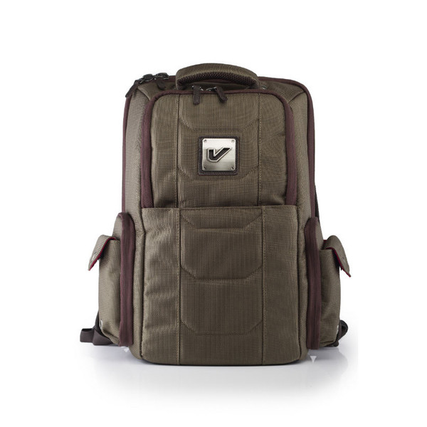 Gruv Gear Elite Flight-Smart Tech Club Bag, Leather Trim