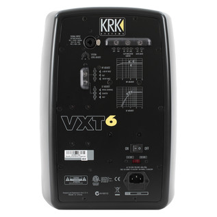 KRK VXT6 Active Studio Monitors, Rear
