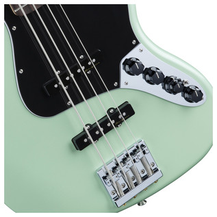 Fender Deluxe Jazz Bass Guitar, Surf Pearl