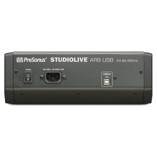 PreSonus StudioLive AR8 USB Mixer - Rear View