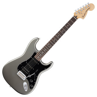 Fender Deluxe Stratocaster HSS Electric Guitar, Tungsten