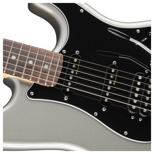 Deluxe Stratocaster HSS Electric Guitar, Tungsten