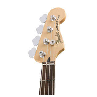 Fender Deluxe Dimension Bass Guitar, Olympic White