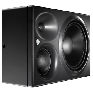 Neumann KH310A Active Three Way Nearfield Studio Monitor, Left - Angled View