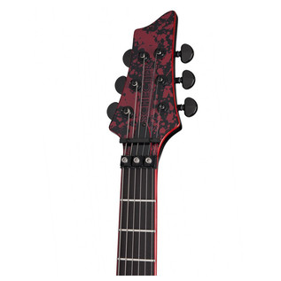 Schecter V-1 Floyd Rose Guitar, Black