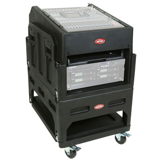 SKB The Mighty 14U GigRig™ - Angled (Rack Gear Not Included)