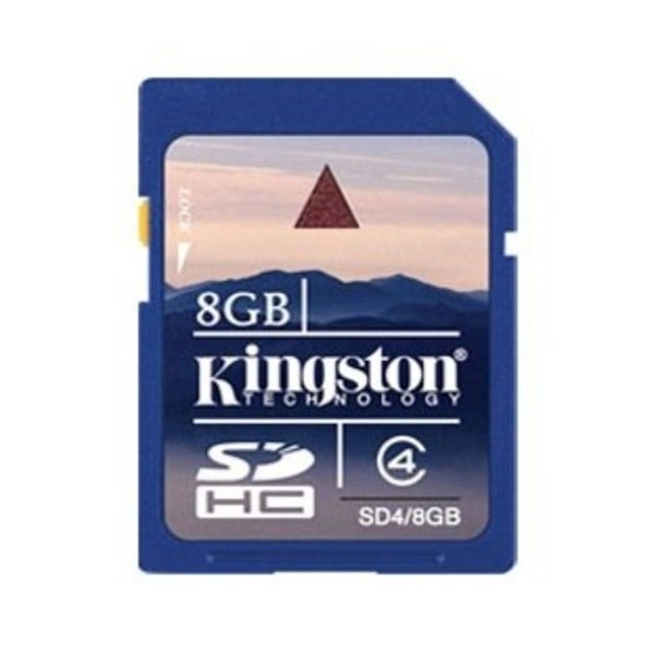 8Gb Kingston SDHC Class 4 Card