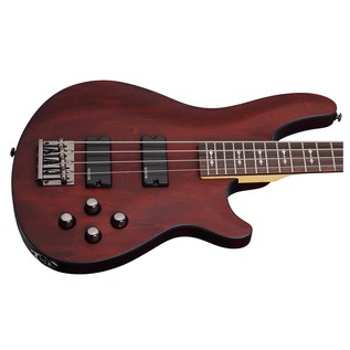 Schecter Omen-4 Bass Guitar, Walnut