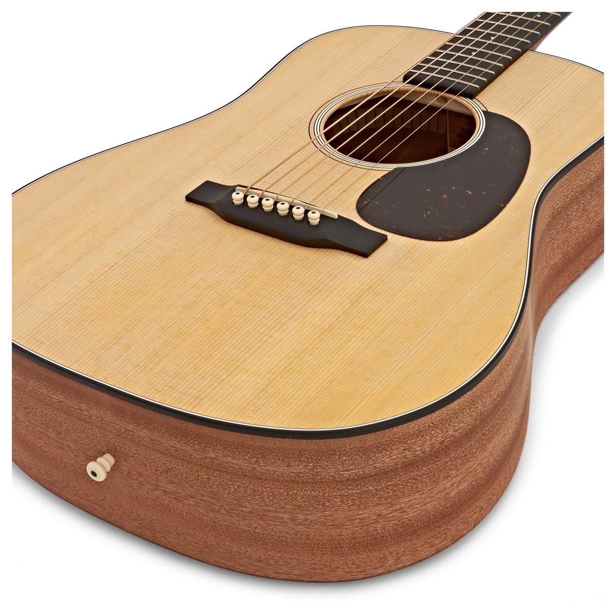 martin dreadnought jr acoustic guitar natural at gear4music. Black Bedroom Furniture Sets. Home Design Ideas