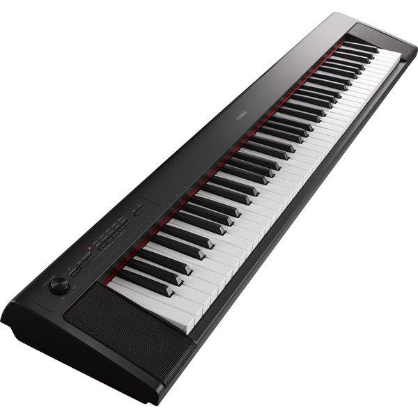 Yamaha Piaggero NP32 Portable Digital Piano, Black