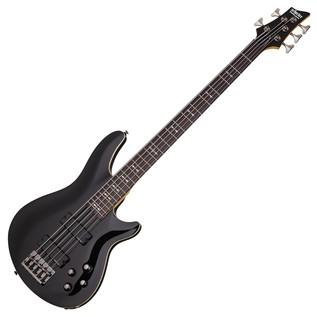 Schecter Omen-5 Bass Guitar, Black