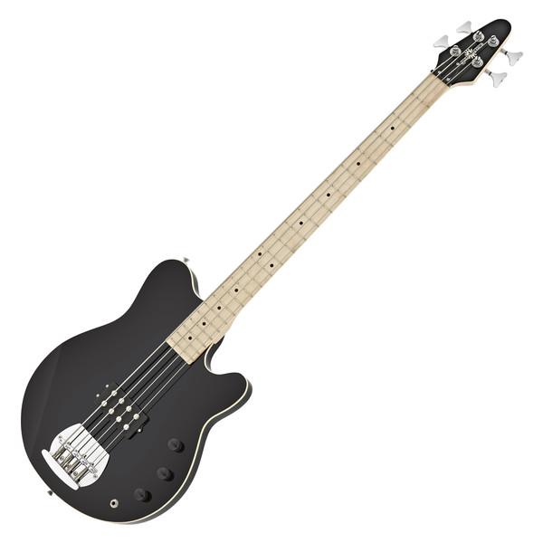Santa Monica Bass Guitar by Gear4music, Black
