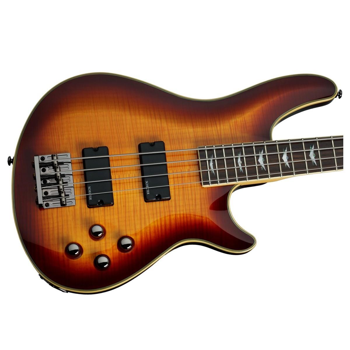 schecter omen extreme 4 bass guitar vintage sunburst at gear4music. Black Bedroom Furniture Sets. Home Design Ideas