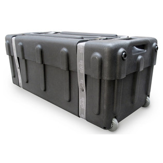 SKB Mid-Sized Drum Hardware Case with Handle - Angled Closed