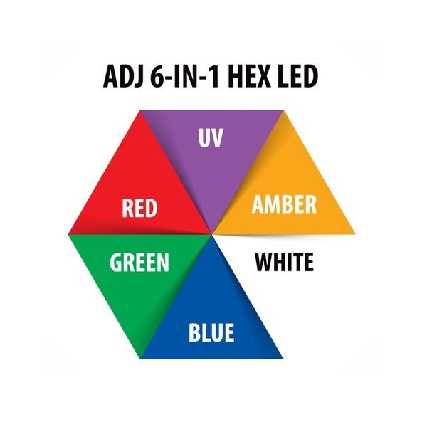 ADJ 5P HEX