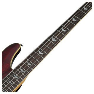 Omen Extreme-5 Bass Guitar, Black Cherry