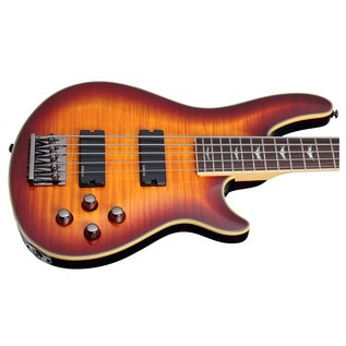 Schecter Omen Extreme-5 Bass Guitar, Sunburst