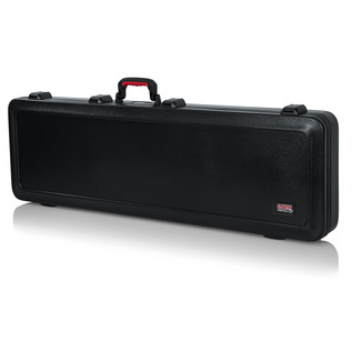 Gator ATA Moulded Guitar Case with TSA Latches for Bass Guitars - Angled Closed