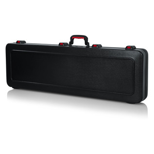 Gator ATA Moulded Guitar Case with TSA Latches for Bass Guitars - Rear Closed