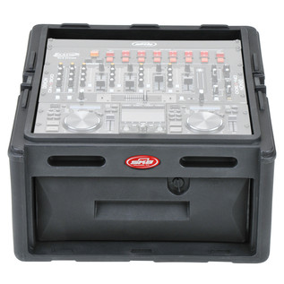 SKB 10x4 Audio and DJ Rack Case - Front Open (DJ Gear Not Included)