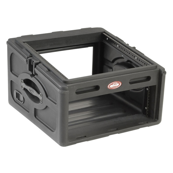 SKB 10x4 Audio and DJ Rack Case - Angled Open