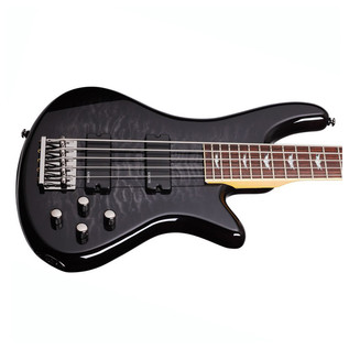 Schecter Stiletto Extreme-5 Bass Guitar, Black