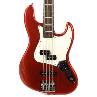 Fender Vintage Hot Rod 70s Jazz Bass, Candy Apple Red 2