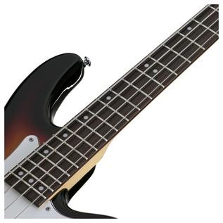Stiletto Vintage-4 Bass Guitar, 3-Tone Sunburst