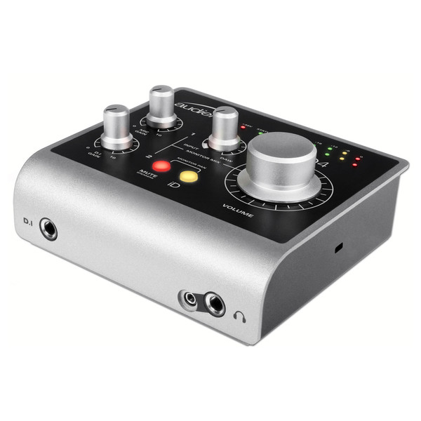 Audient ID4 Audio Interface - Angled