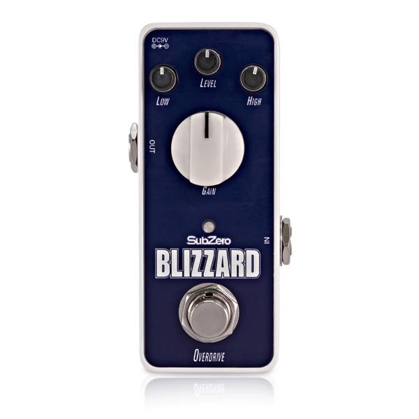 Subzero Blizzard Overdrive Micro Guitar Pedal