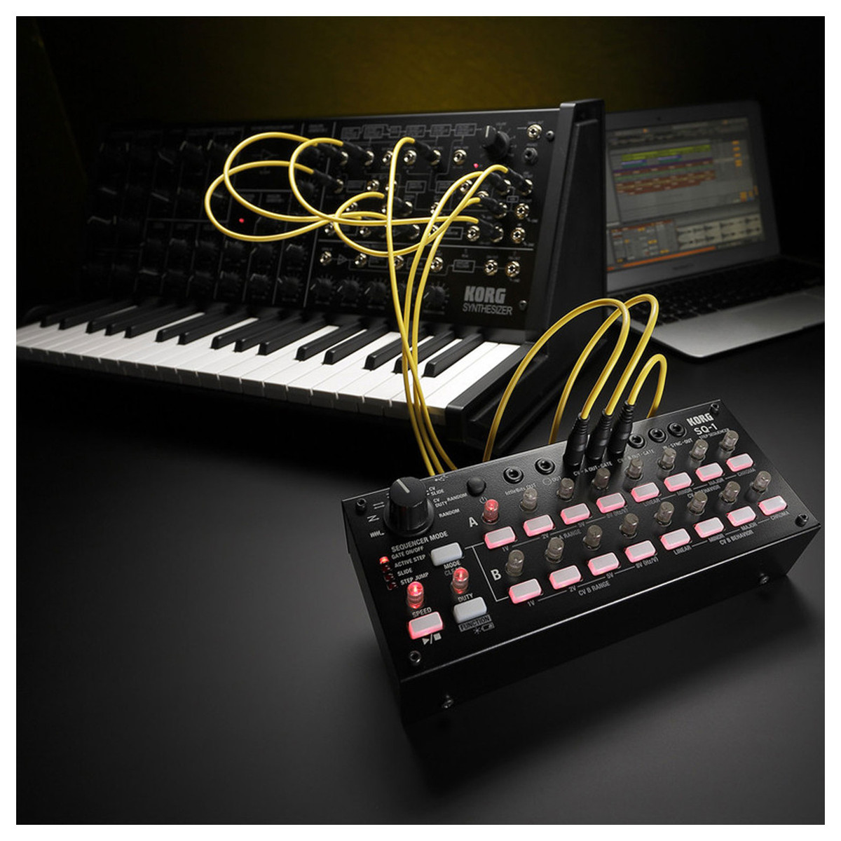 korg ms 20 mini analog synthesizer and sq 1 analog step sequencer at gear4music. Black Bedroom Furniture Sets. Home Design Ideas