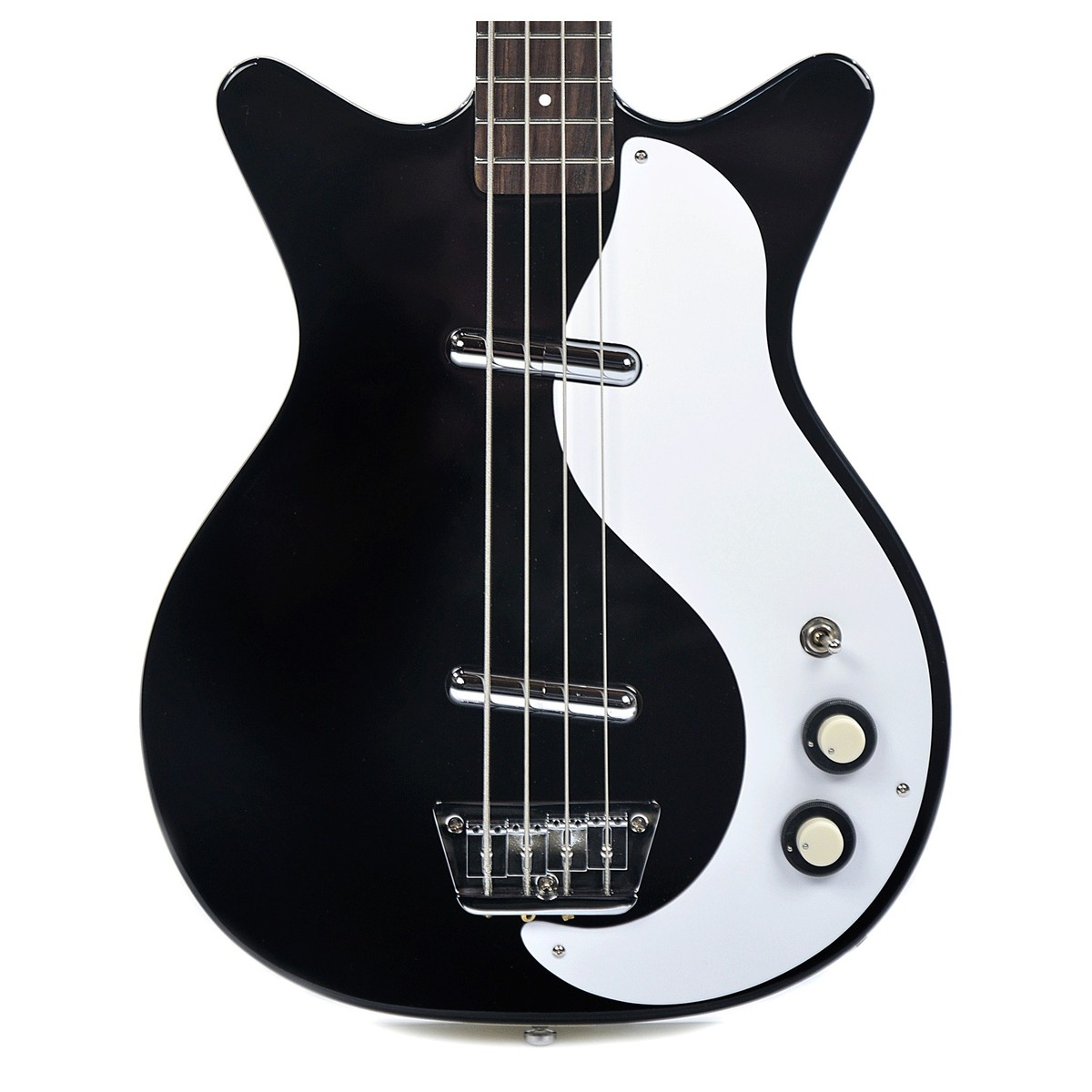 danelectro 59dc long scale bass black rh gear4music com Danelectro 59 Reissue Lefty Jimmy Page Danelectro 59