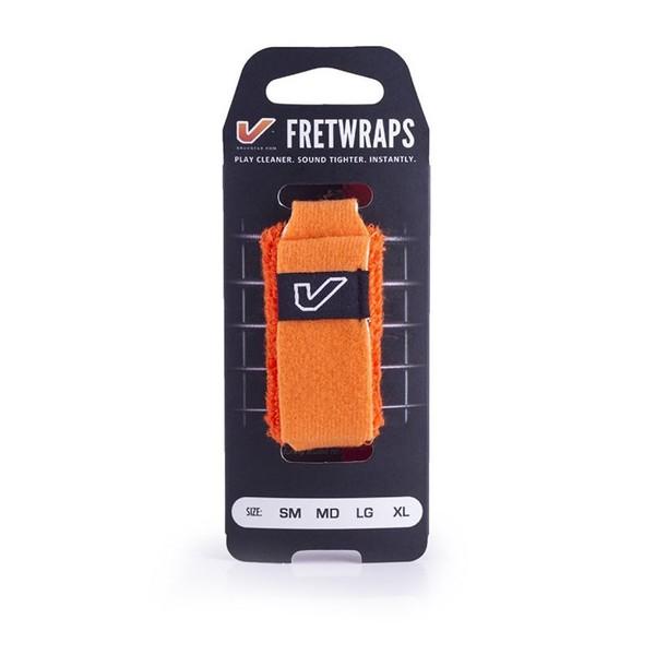 Gruv Gear FretWraps HD Flare Orange 1-Pack, Medium