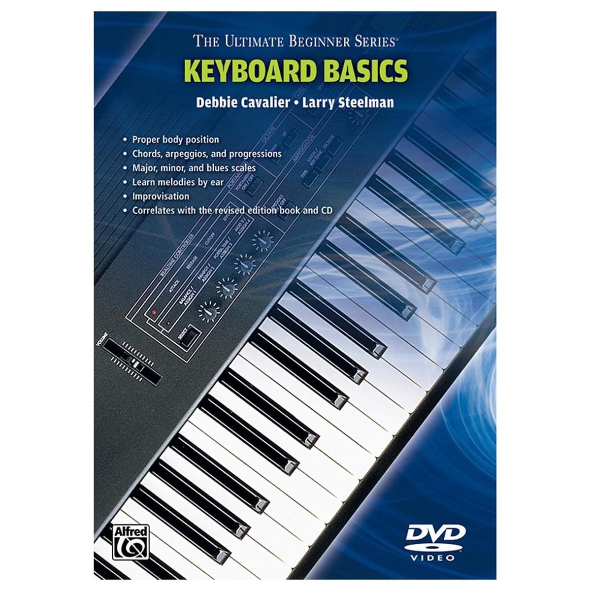 Ultimate Beginners Keyboard Dvd