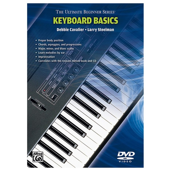 Ultimate Beginners Keyboard DVD