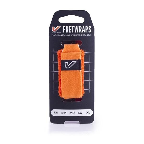 Gruv Gear FretWraps HD Flare Orange 1-Pack, Extra Large