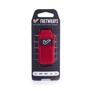 Gruv Gear FretWraps HD Fire Red 1-Pack, Large