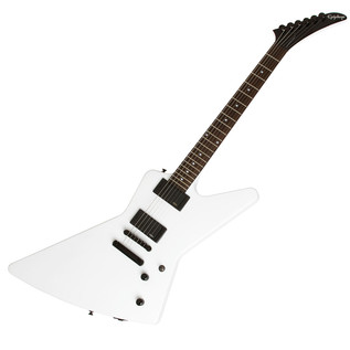 Epiphone Explorer EX Electric Guitar with EMG Pickups, Alpine White