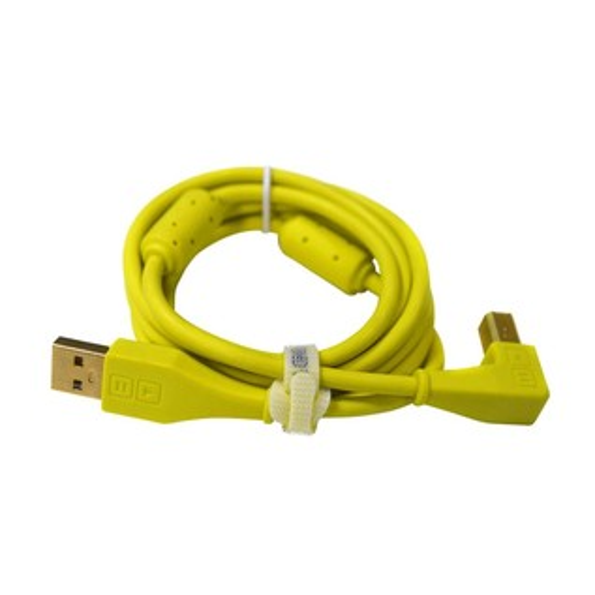 DJ Tech Tools Chroma Angled USB Cable, Green - Cable