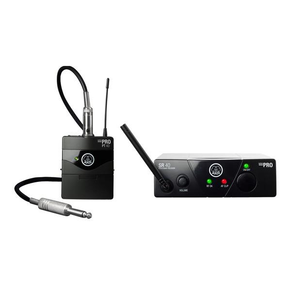 AKG WMS40 Mini Wireless Instrument Set ISM 2