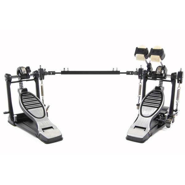 double kick drum pedal with floorplate box opened at gear4music. Black Bedroom Furniture Sets. Home Design Ideas